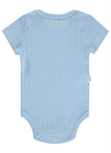 Civil Baby Civil Baby Bebek Çıtçıtlı Badi 0-24  Ay Mavi Civil Baby Bebek Çıtçıtlı Badi 0-24  Ay Mavi Mavi